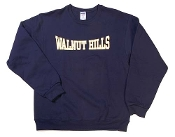 This comfortable navy crew sweatshirt is perfect by itself or can be worn over a button down shirt or polo shirt. Great for fall and winter.