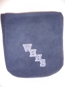 WHHS Navy Blue Fleece Scarf