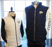 Embroidered Quilted Vests