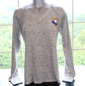Women's Soft Gray Hooded Cuddle Sweater
