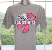 Walnut Hills Gray Breast Cancer Awareness T-Shirt